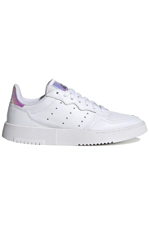 Tenis Adidas SUPERCOURT J Ftwr White/Ftwr White/Core Black