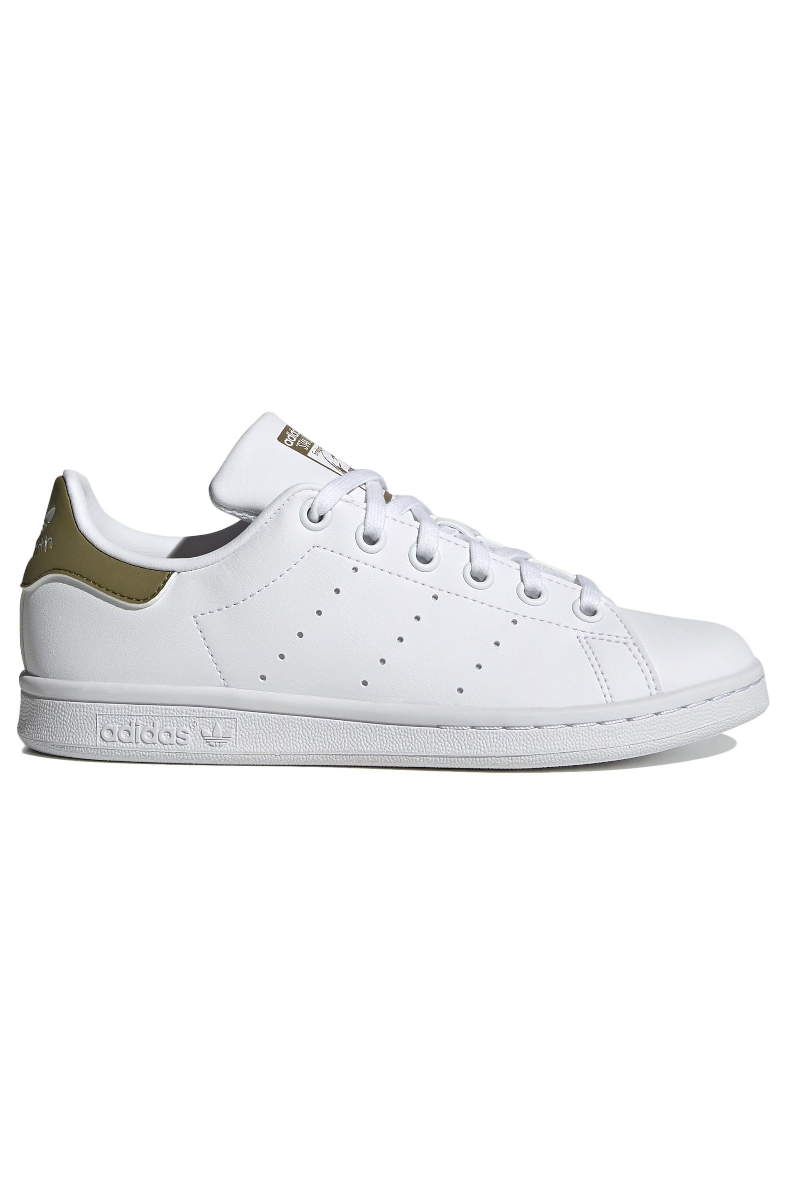 Adidas Shoes STAN SMITH J Ftwr White/Ftwr White/Wild Moss