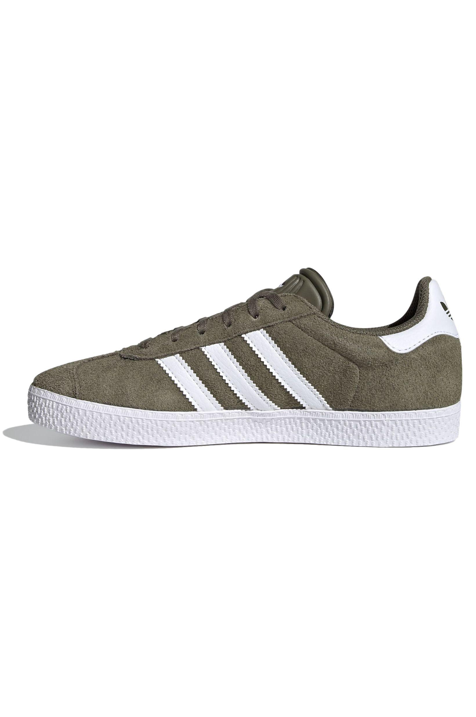 Adidas Shoes GAZELLE J Raw Khaki/Ftwr White/Ftwr White