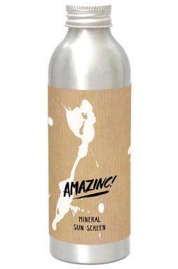 Amazinc Sunscreen MINERAL SUNSCREEN 150GR Assorted