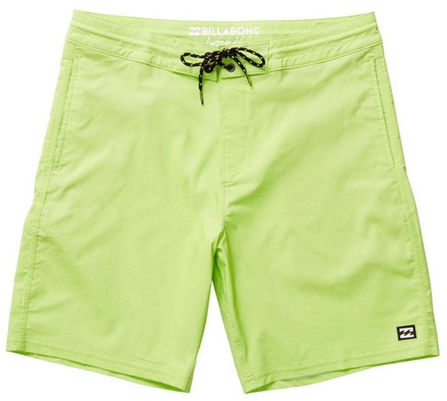 "Boardshorts Billabong ALL DAY LO TIDES 19"" Light Lime"