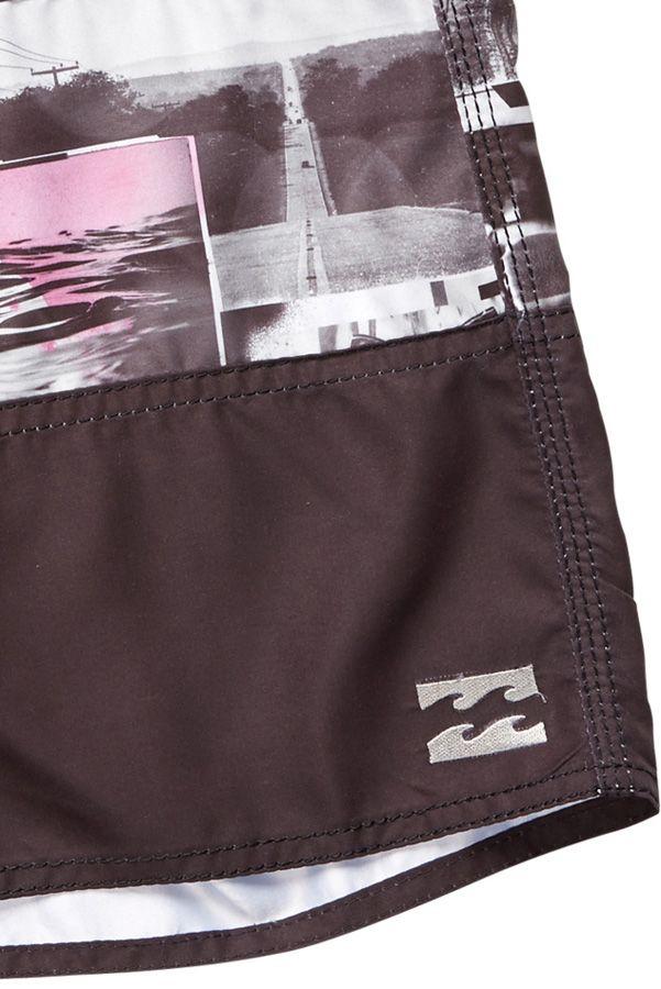 Boardshorts Billabong TRIBONG PRINTED OG 1 Black/Purple