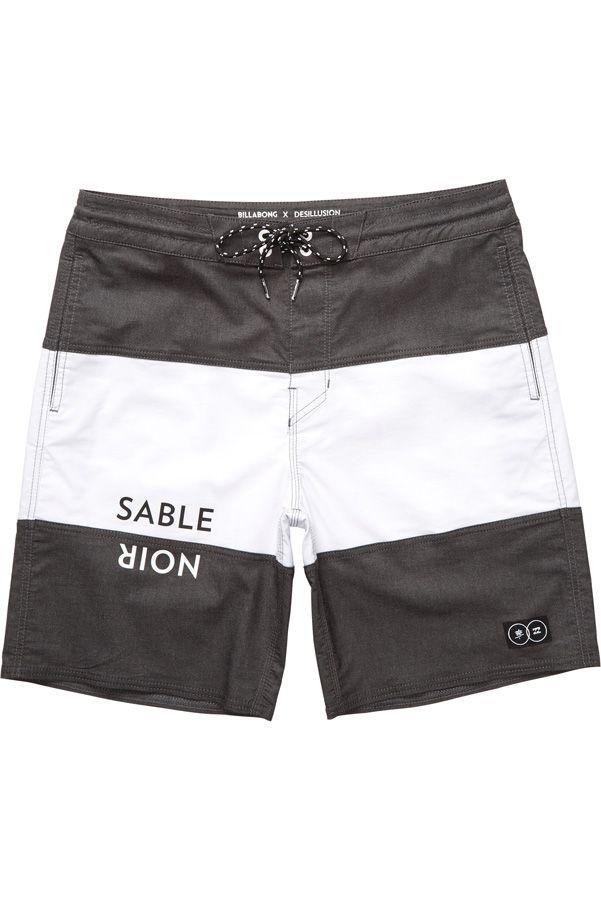 Boardshorts Billabong TRIBONG SABLE NOIR L Black