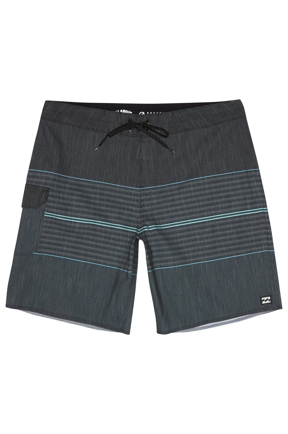 Boardshorts Billabong ALL DAY HTR STRP PRO Charcoal