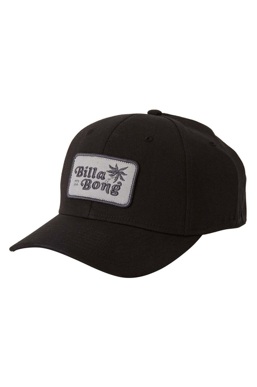 Billabong Cap   WALLED STRETCH Black