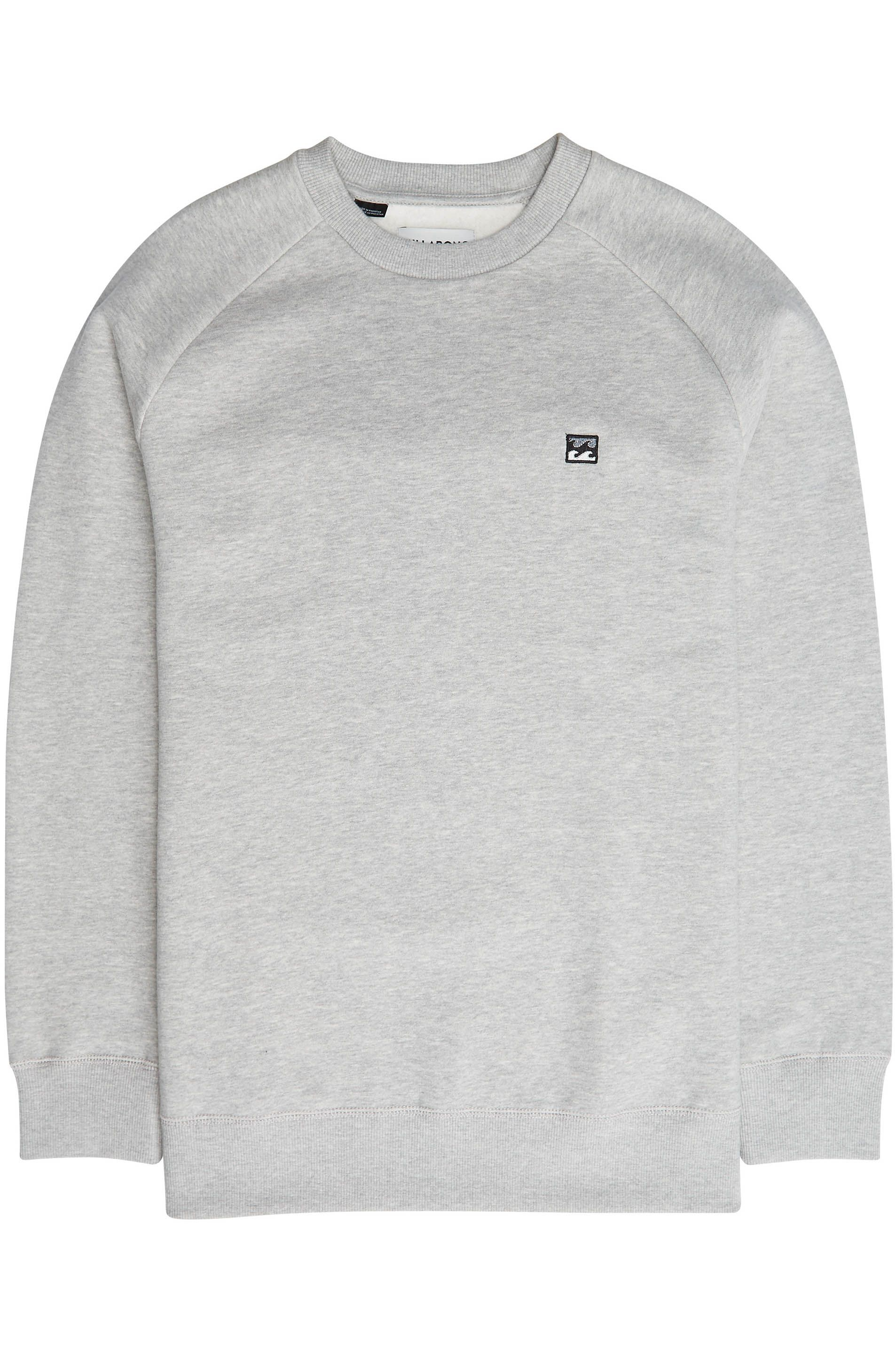 Sweat Basica Billabong ORIGINAL Grey Heather