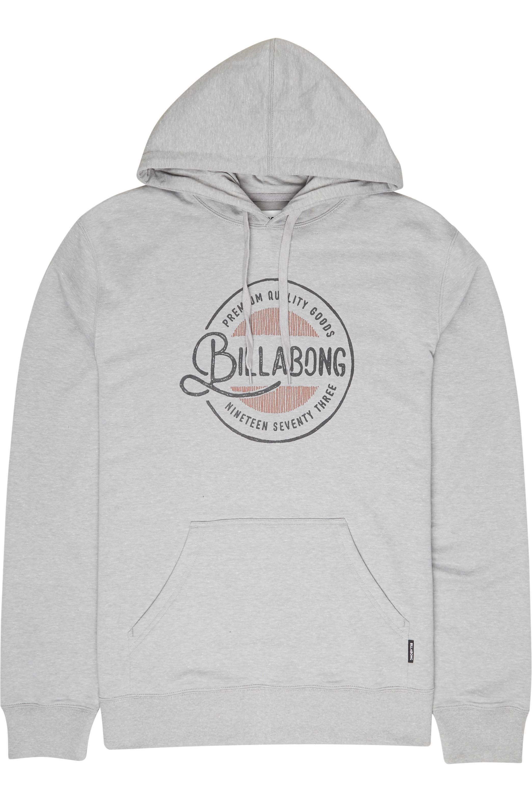 Sweat Capuz Billabong PLAZA Grey Heather