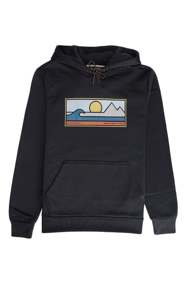 Sweat Capuz Billabong SCENIC PULLOVER ADVENTURE DIVISION Black