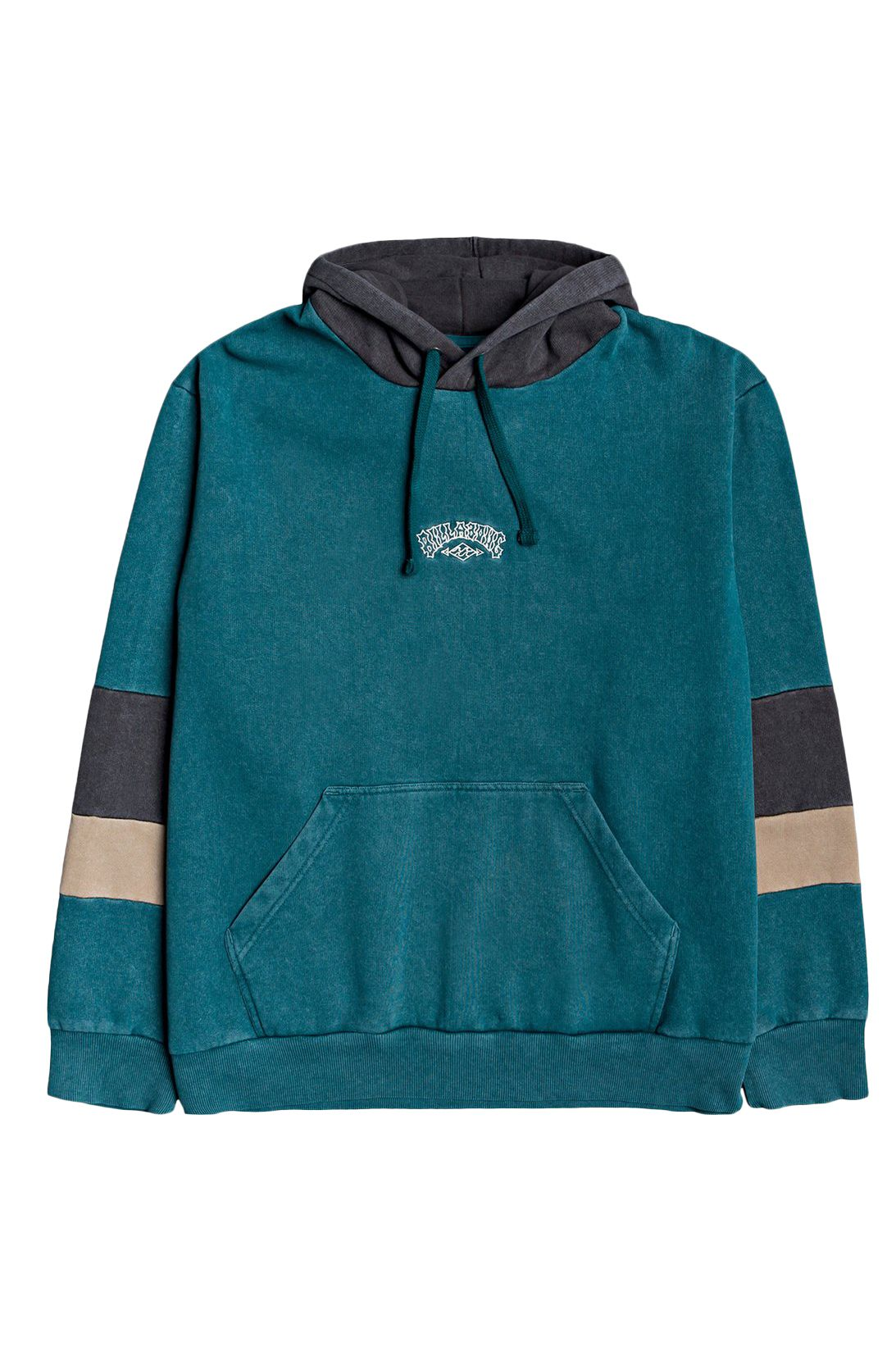 Sweat Capuz Billabong THE COVE PO WAVE WASH Deep Teal