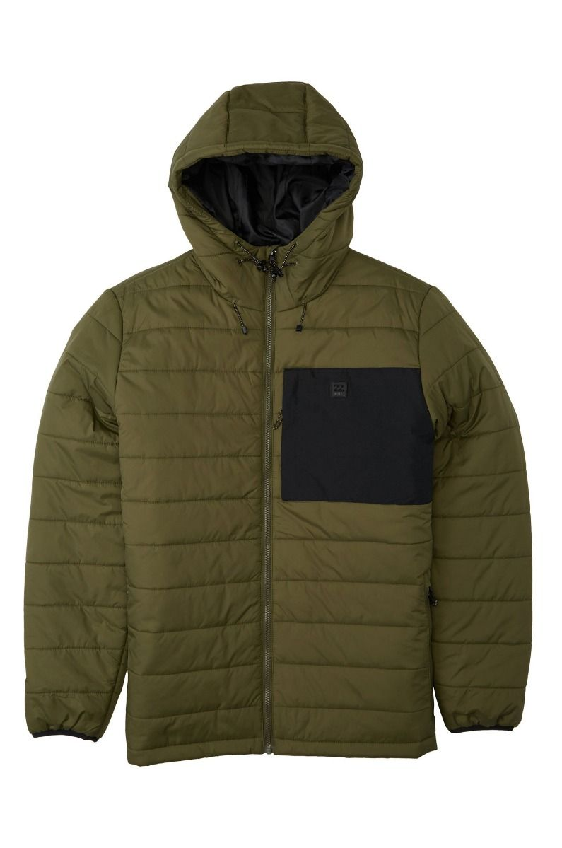 Blusão Billabong JOURNEY PUFFER ADVENTURE DIVISION Military
