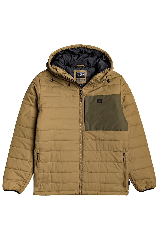 Billabong Jacket JOURNEY PUFFER ADVENTURE DIVISION Clay