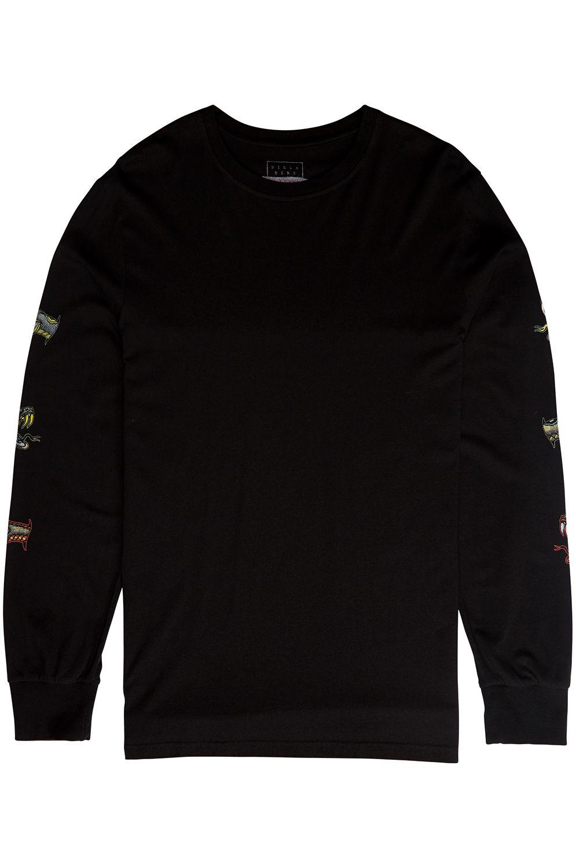 L-Sleeve Billabong VIPER Black