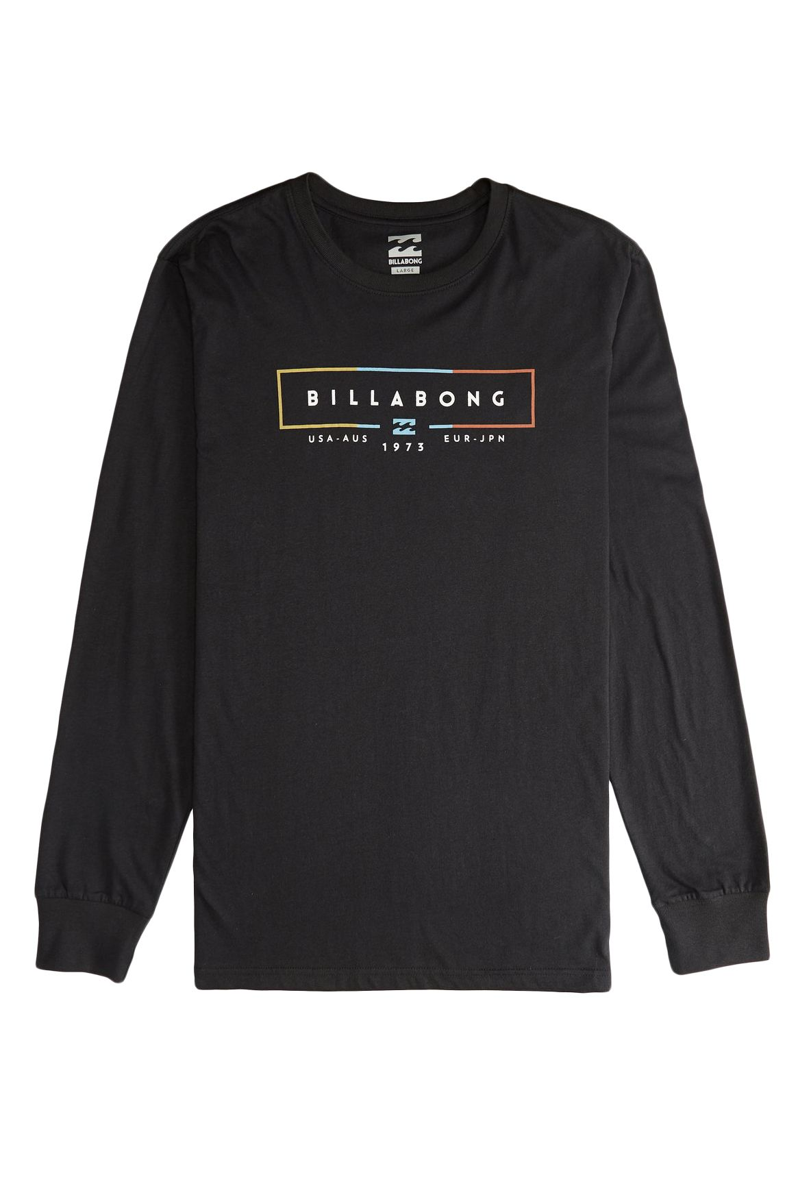 L-Sleeve Billabong UNITY Black