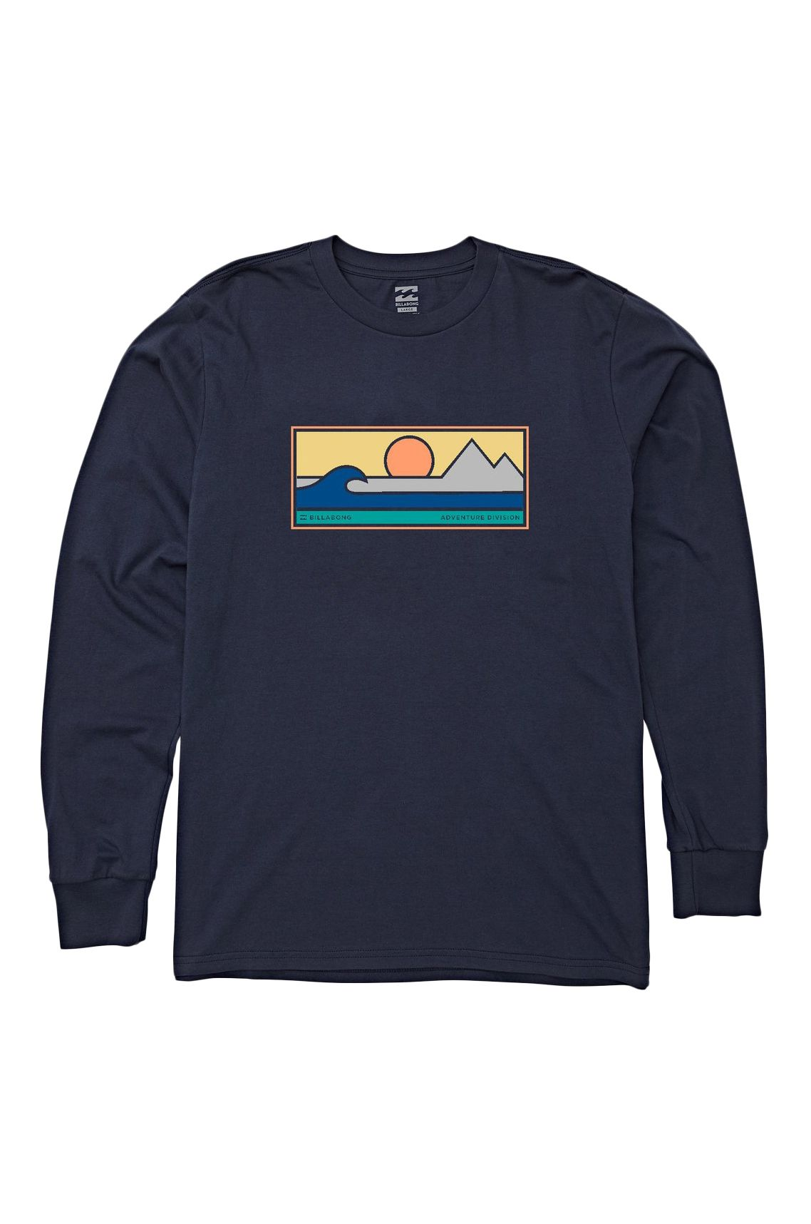 L-Sleeve Billabong SCENIC TEE LS ADVENTURE DIVISION Navy