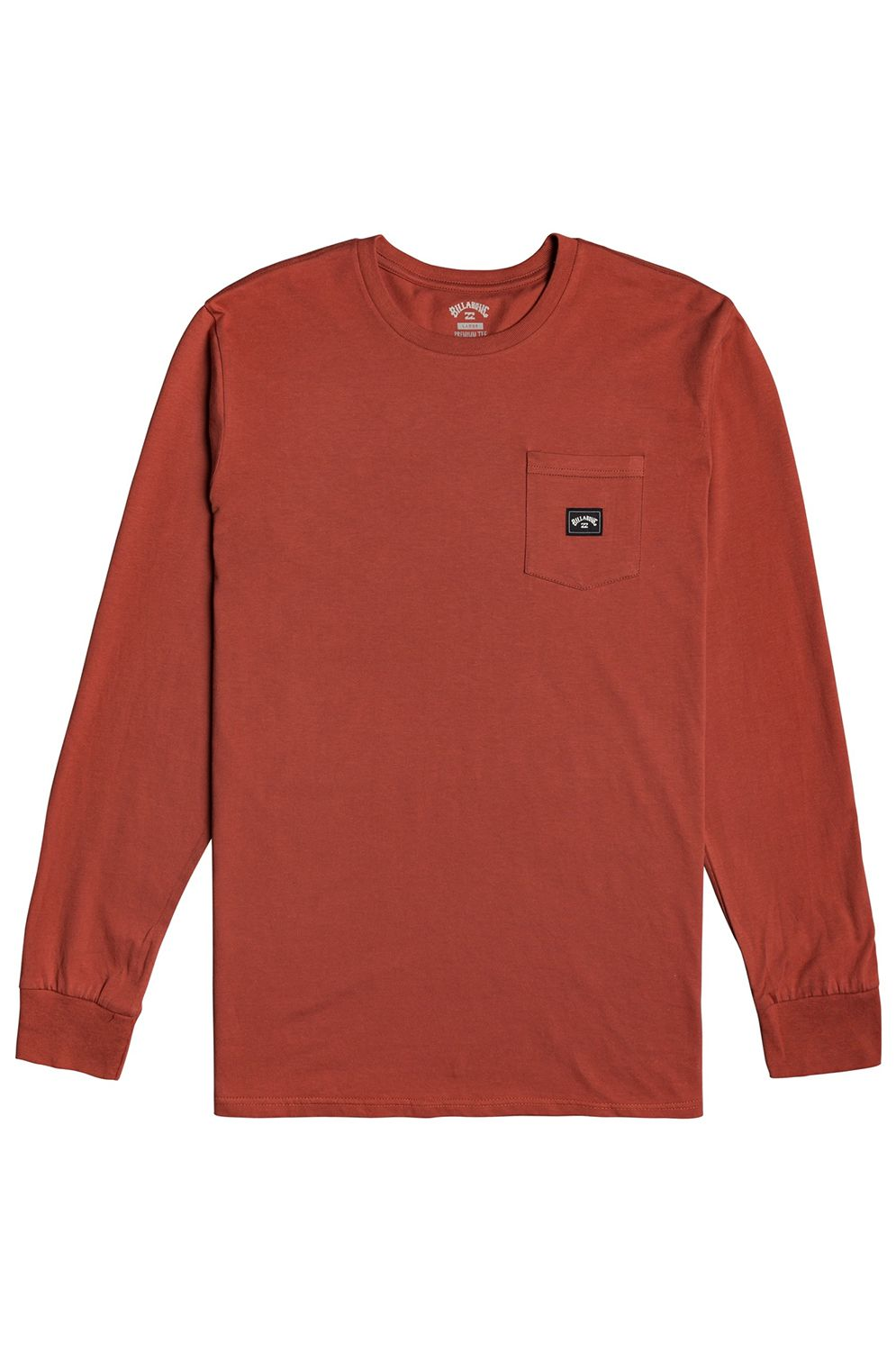 L-Sleeve Billabong STACKED LS Deep Red
