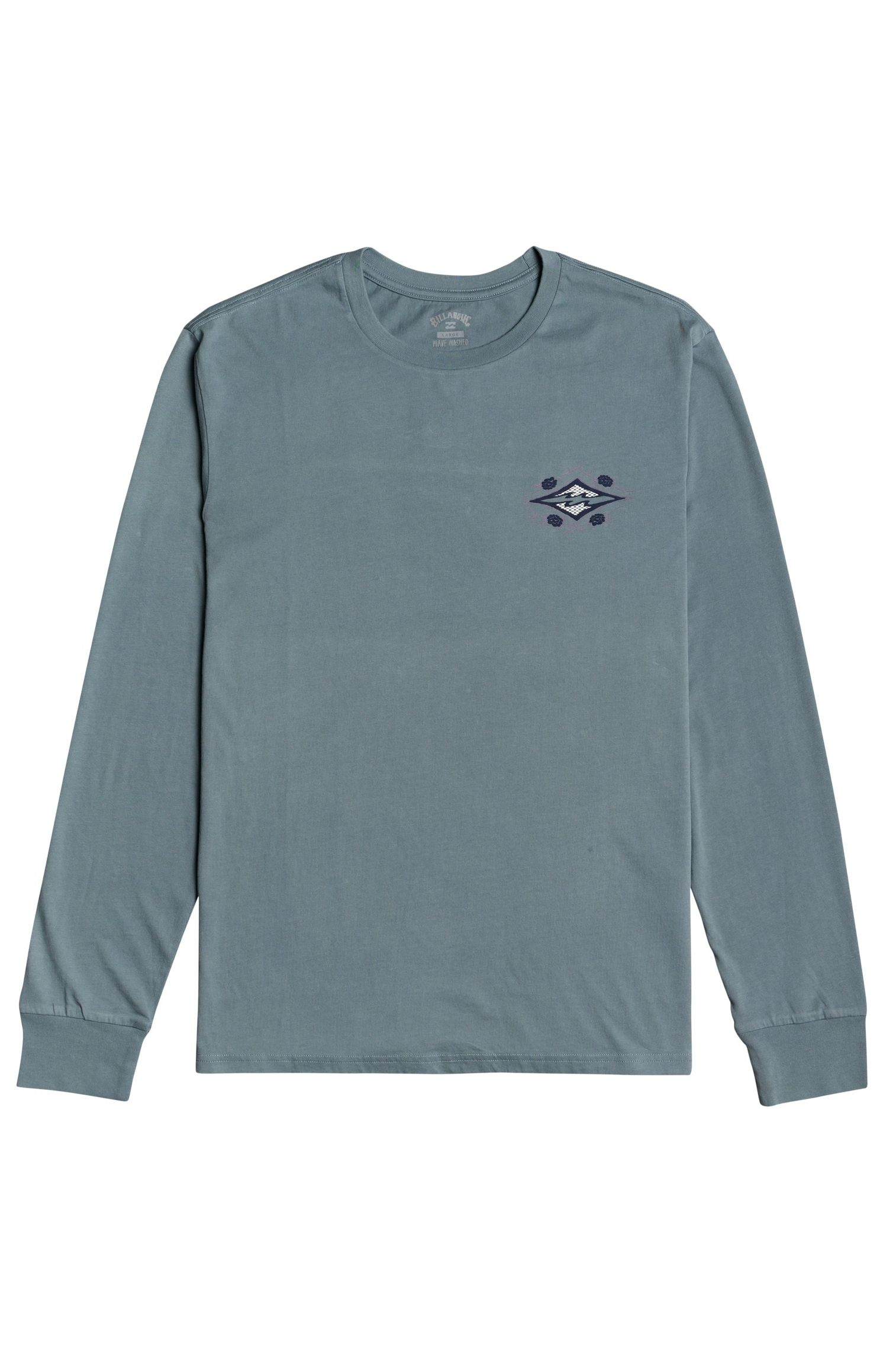 L-Sleeve Billabong HERITAGE LS WAVE WASH Slate