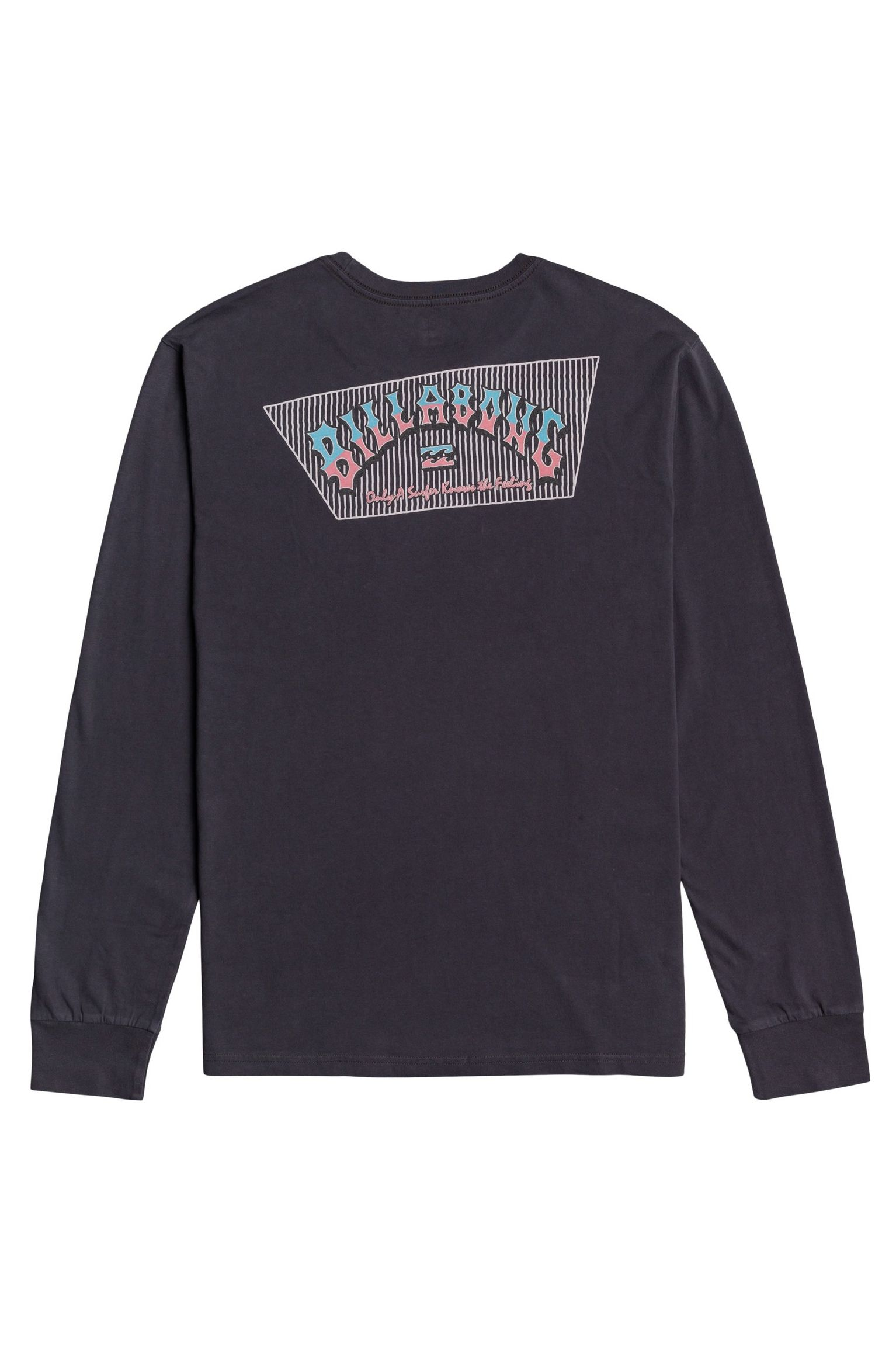 L-Sleeve Billabong HERITAGE LS WAVE WASH Char