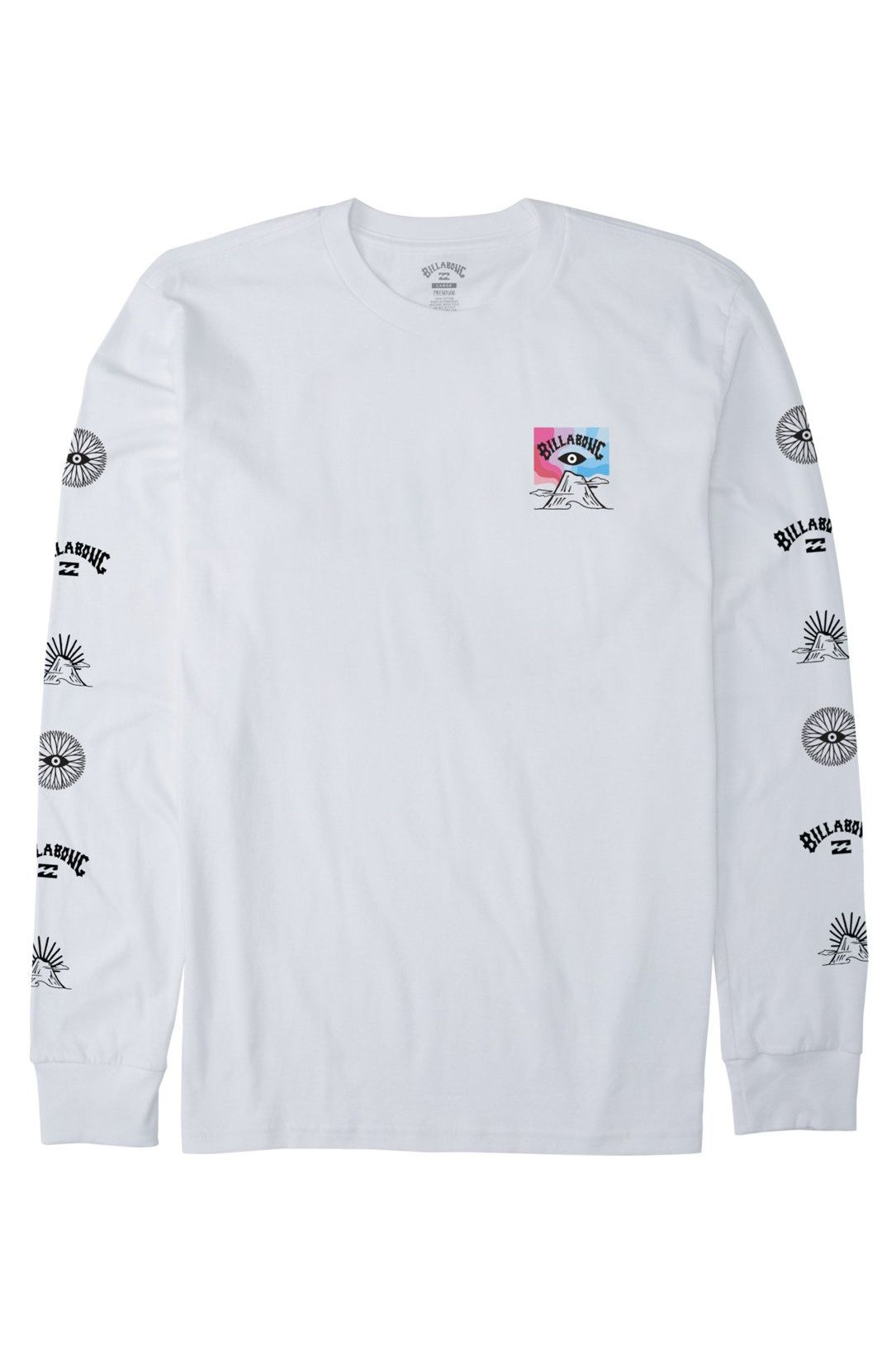 L-Sleeve Billabong EYESOLATION LS ADVENTURE DIVISION White