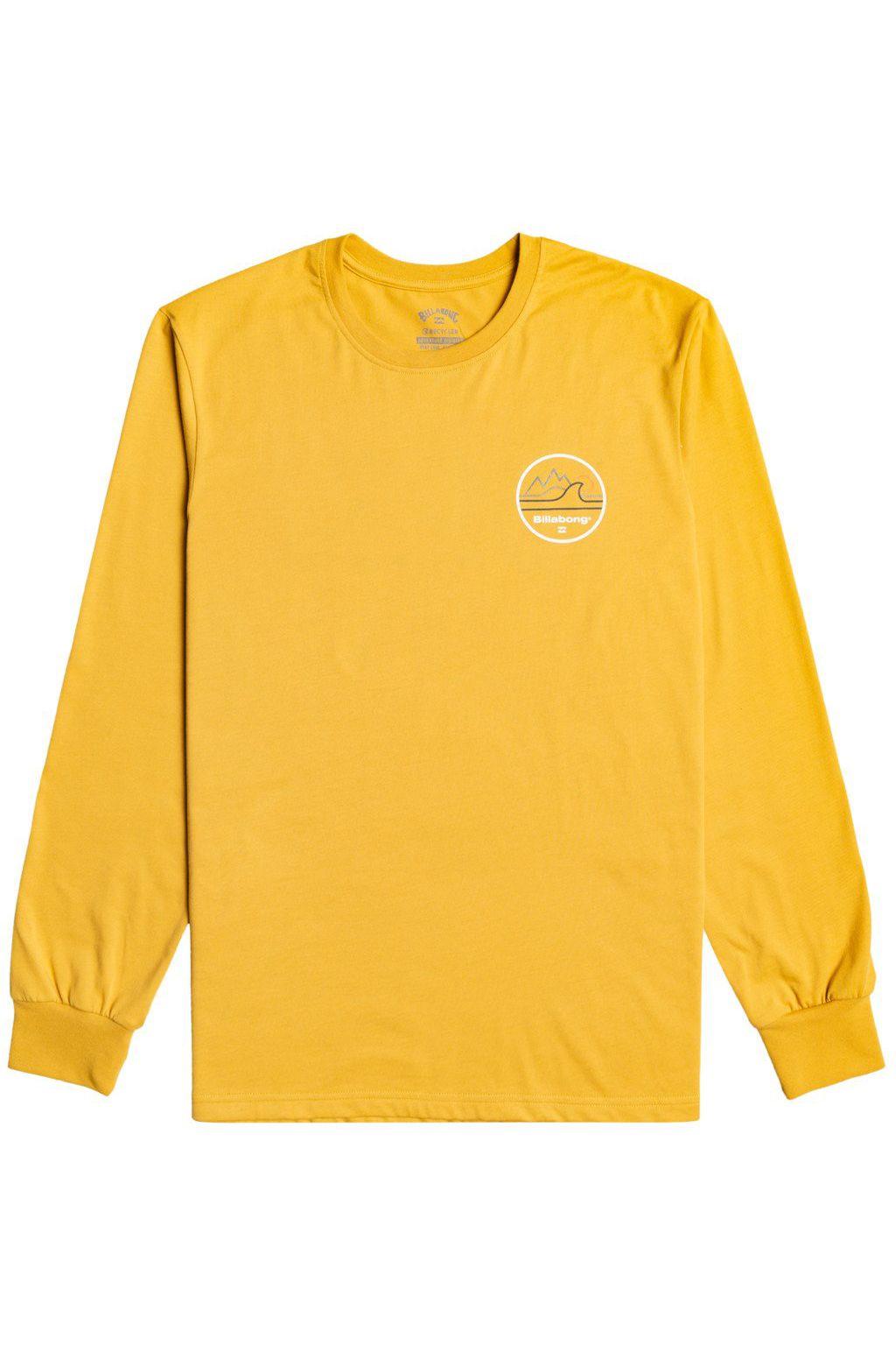 Billabong L-Sleeve PEAK WAVE LS ADVENTURE DIVISION Gold