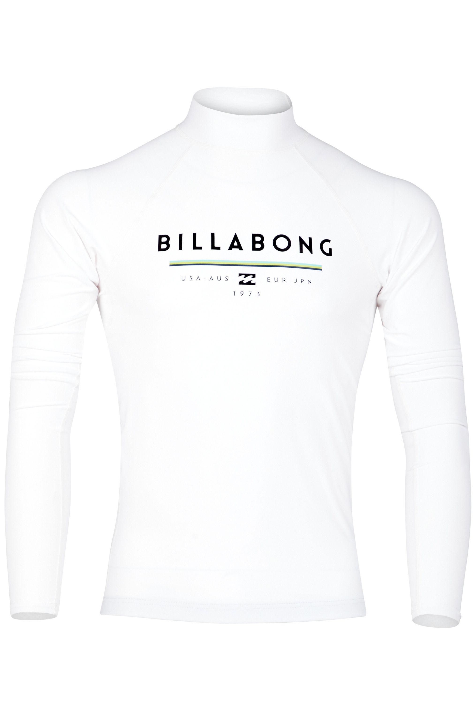 Billabong Neoprene Lycra UNITY LS White