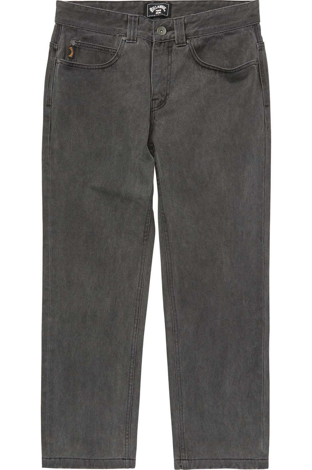Billabong Pant Jeans FIFTY CROPPED REISSUE Vintage Black