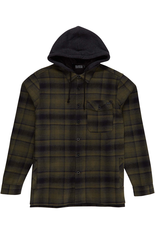 Camisa Billabong FURNACE BONDED FLANN Military 89dd23cfb3b
