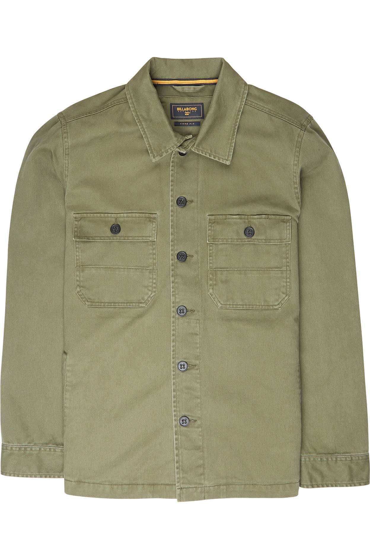 Camisa Billabong COLLINS Military 5a13d49a1e2