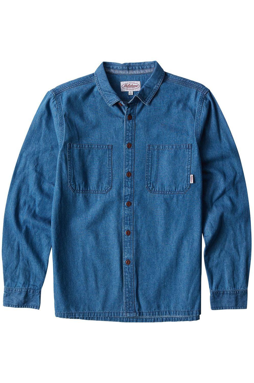 Camisa Billabong 97 WORKWEAR DENIM LS Indigo