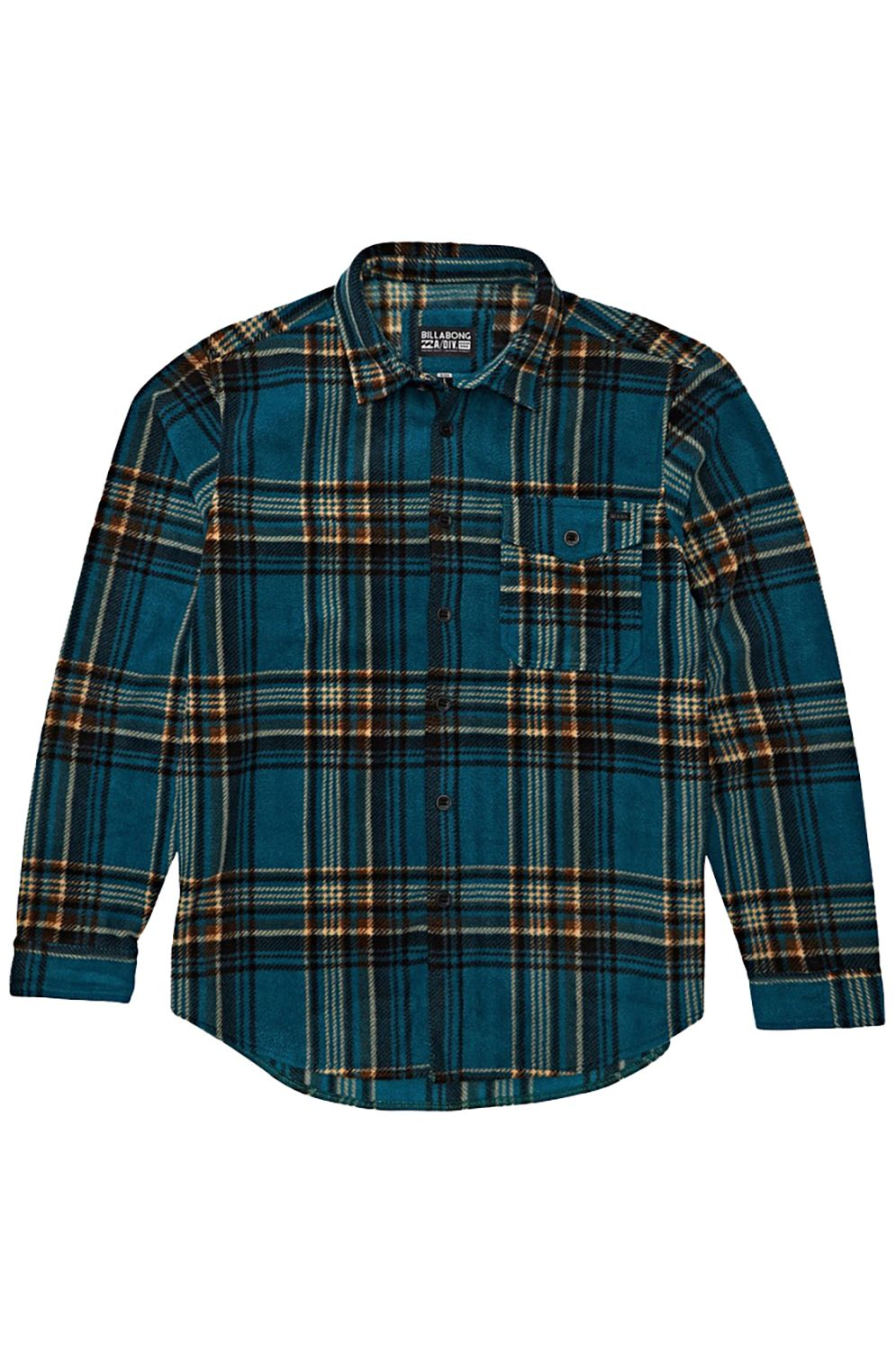 Billabong Shirt FURNACE FLANNEL ADVENTURE DIVISION Emerald