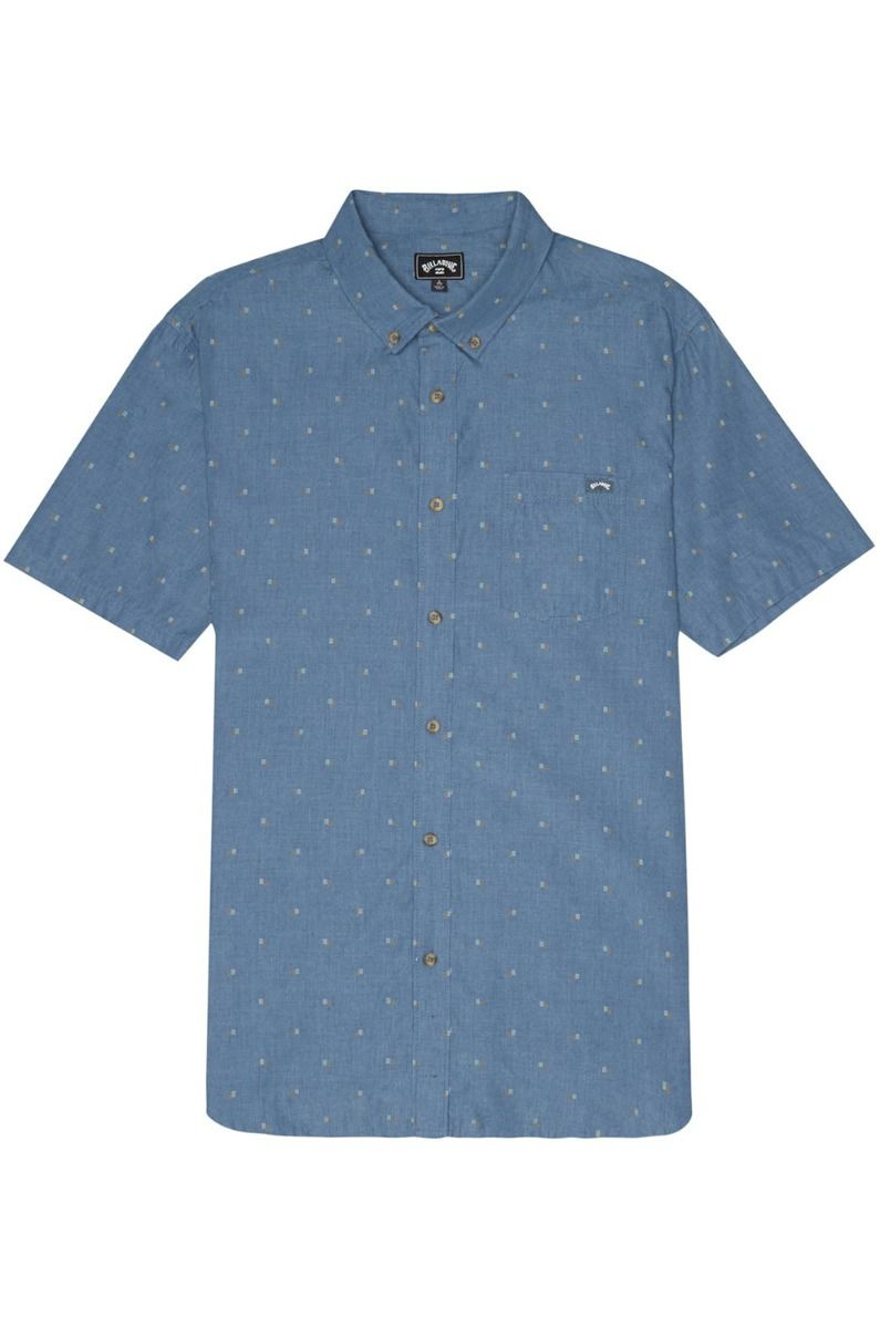 Billabong Shirt ALL DAY JACQUARD Deep Ocean