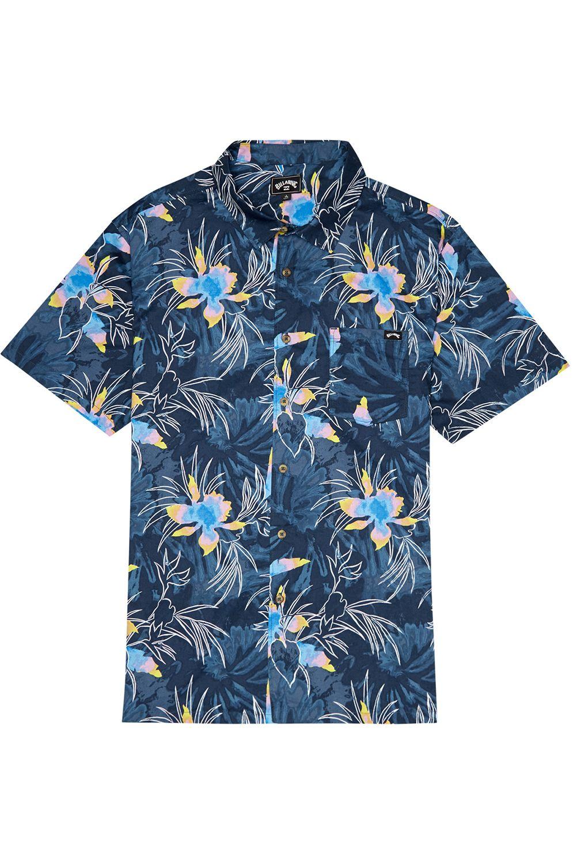 Camisa Billabong SUNDAYS FLORAL SS Navy