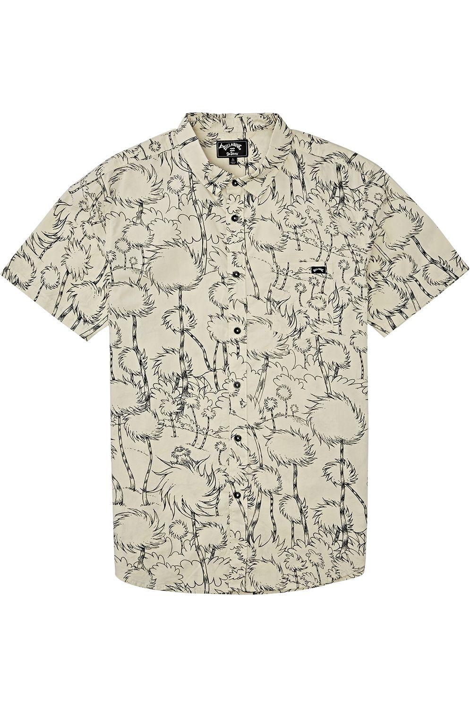 Camisa Billabong TRUFFULA SS DR SEUSS Stone