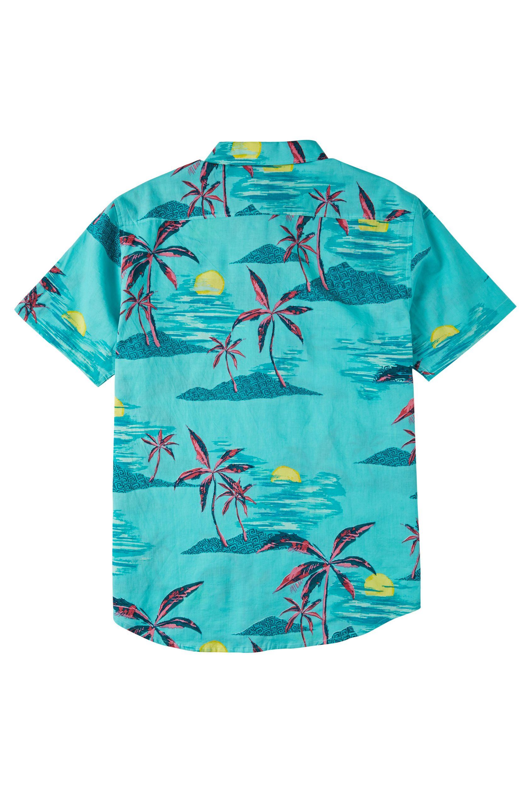 Camisa Billabong SUNDAYS FLORAL SS Mint