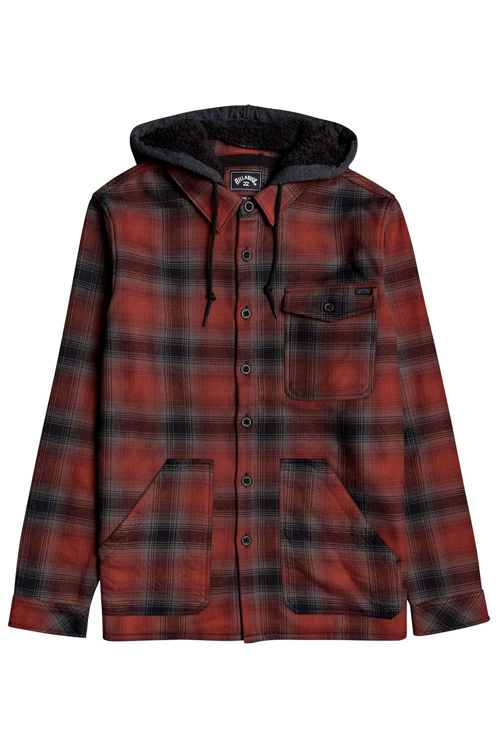Billabong Shirt FURNACE BONDED ADVENTURE DIVISION Red