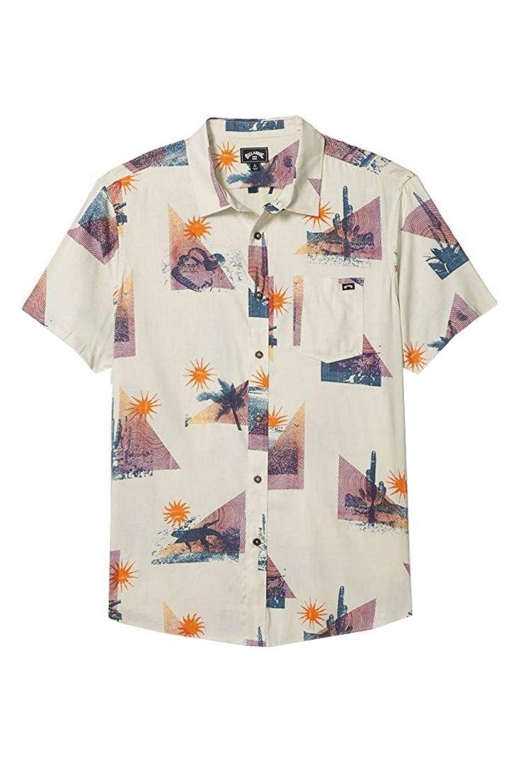 Camisa Billabong VACAY SS Stone