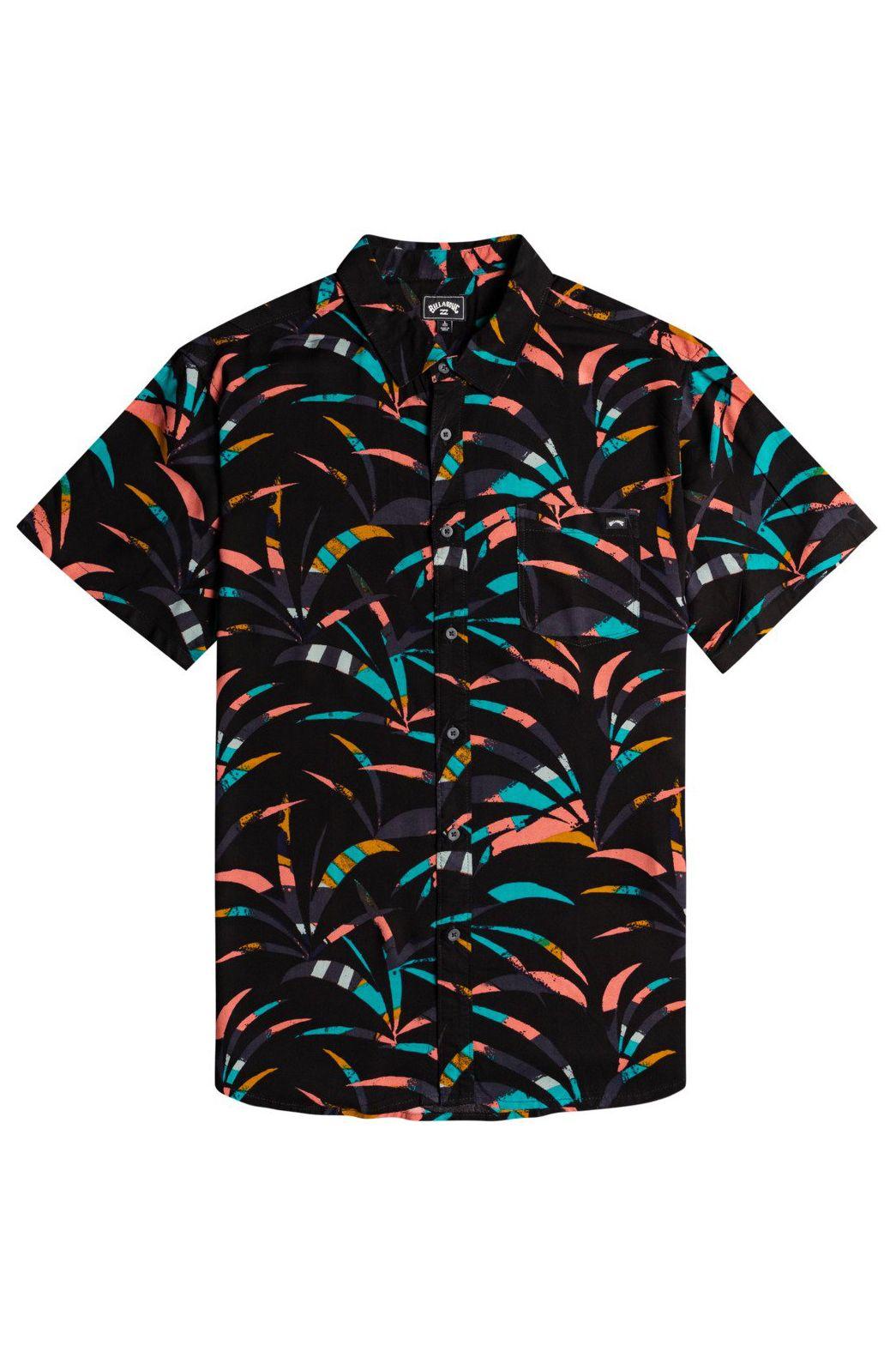 Camisa Billabong VACAY SS Black Coral
