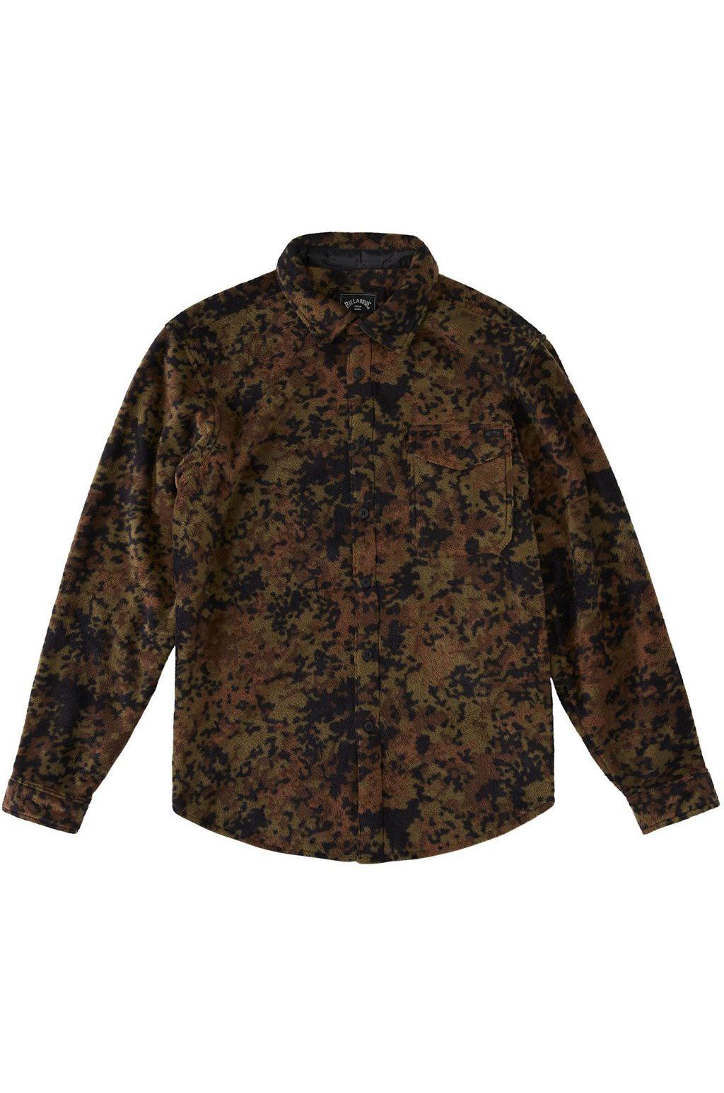 Billabong Shirt FURNACE FLANNEL ADVENTURE DIVISION Camo