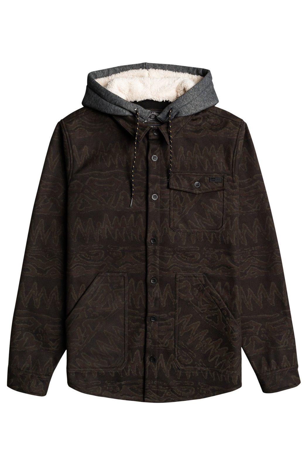 Billabong Shirt FURNACE BONDED FLANN ADVENTURE DIVISION Black