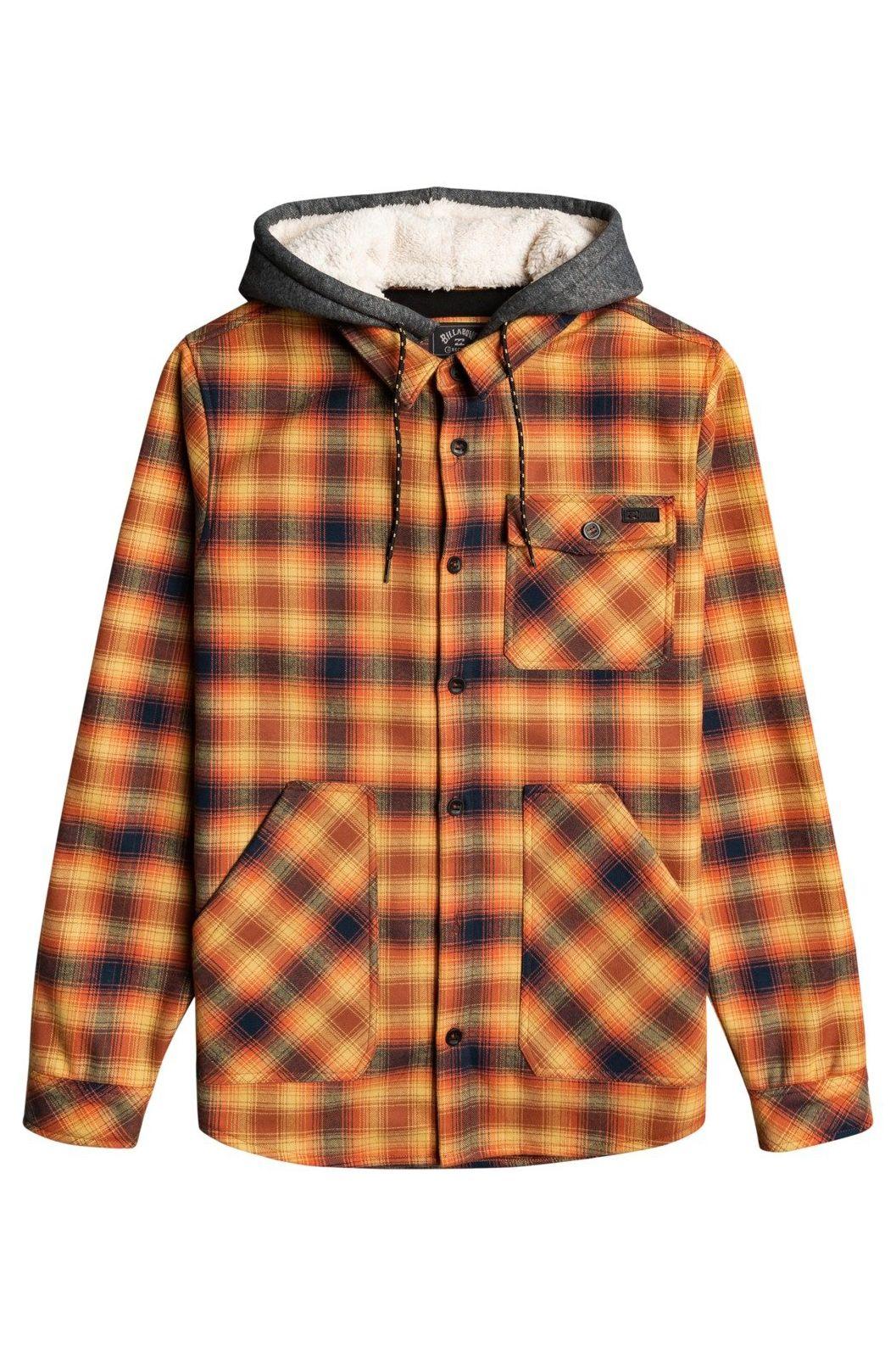 Billabong Shirt FURNACE BONDED FLANN ADVENTURE DIVISION Rust