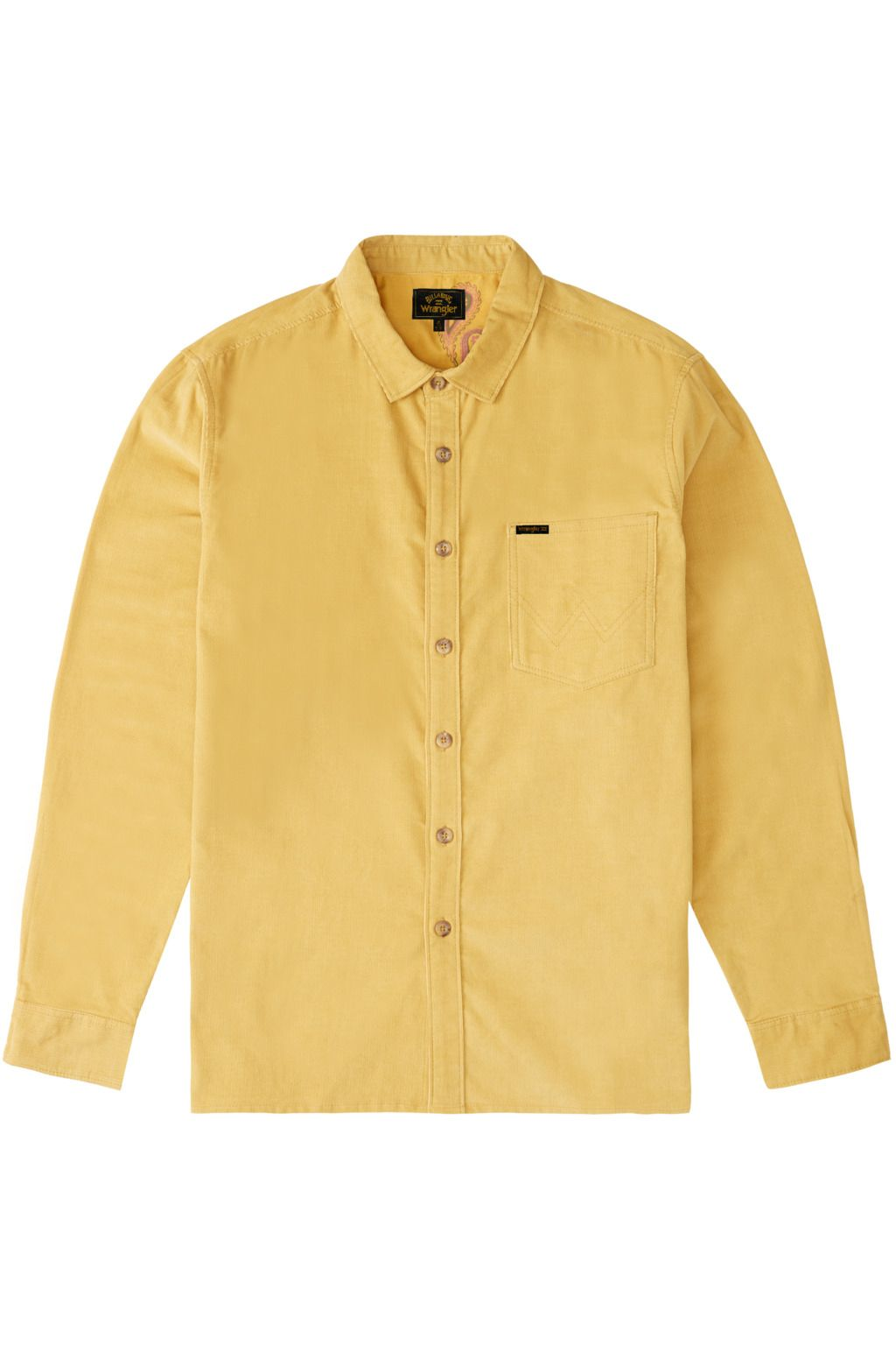 Billabong Shirt BOWIE CORD LS WRANGLER. Gold