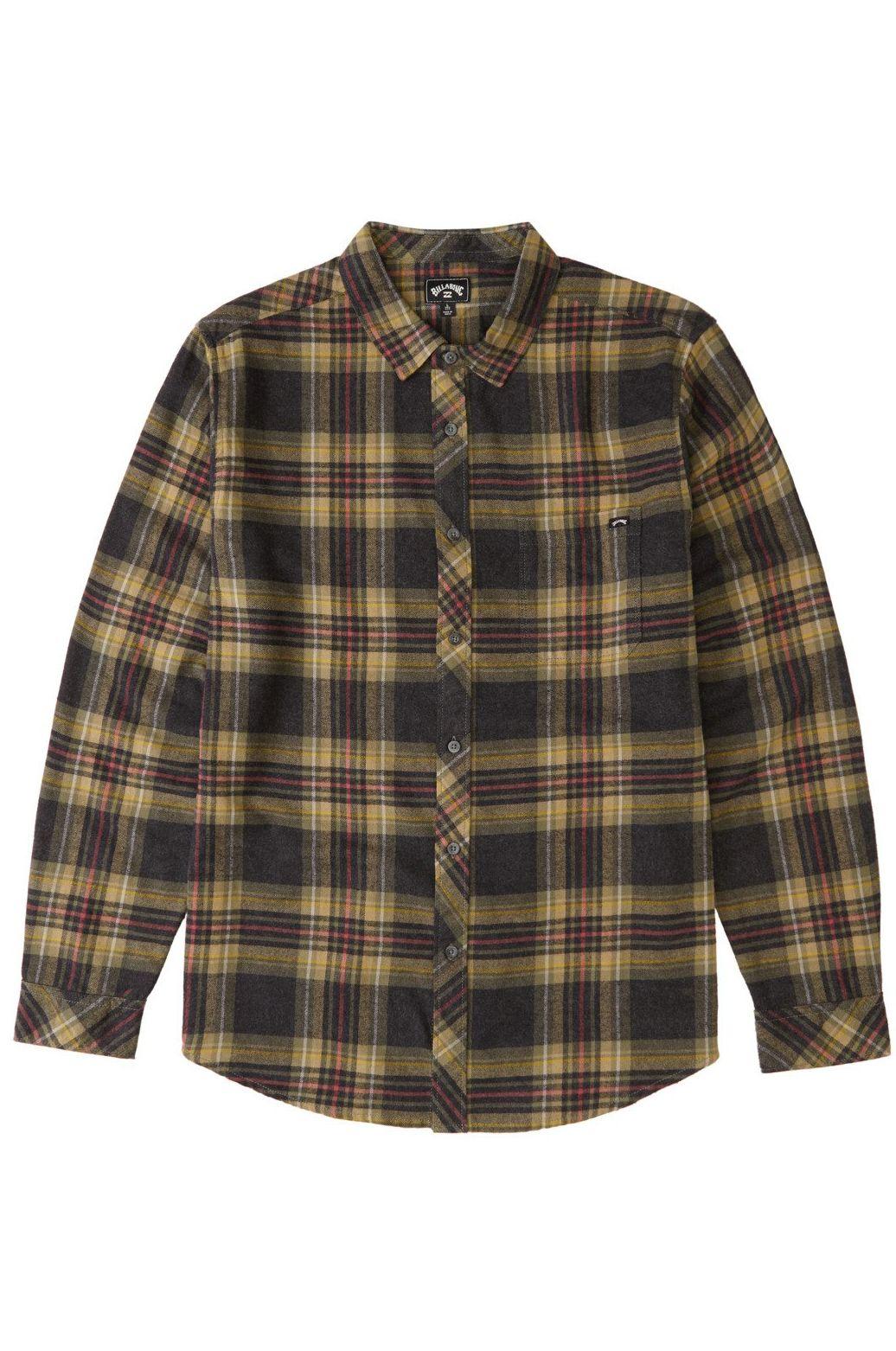 Camisa Billabong COASTLINE FLANNEL Black