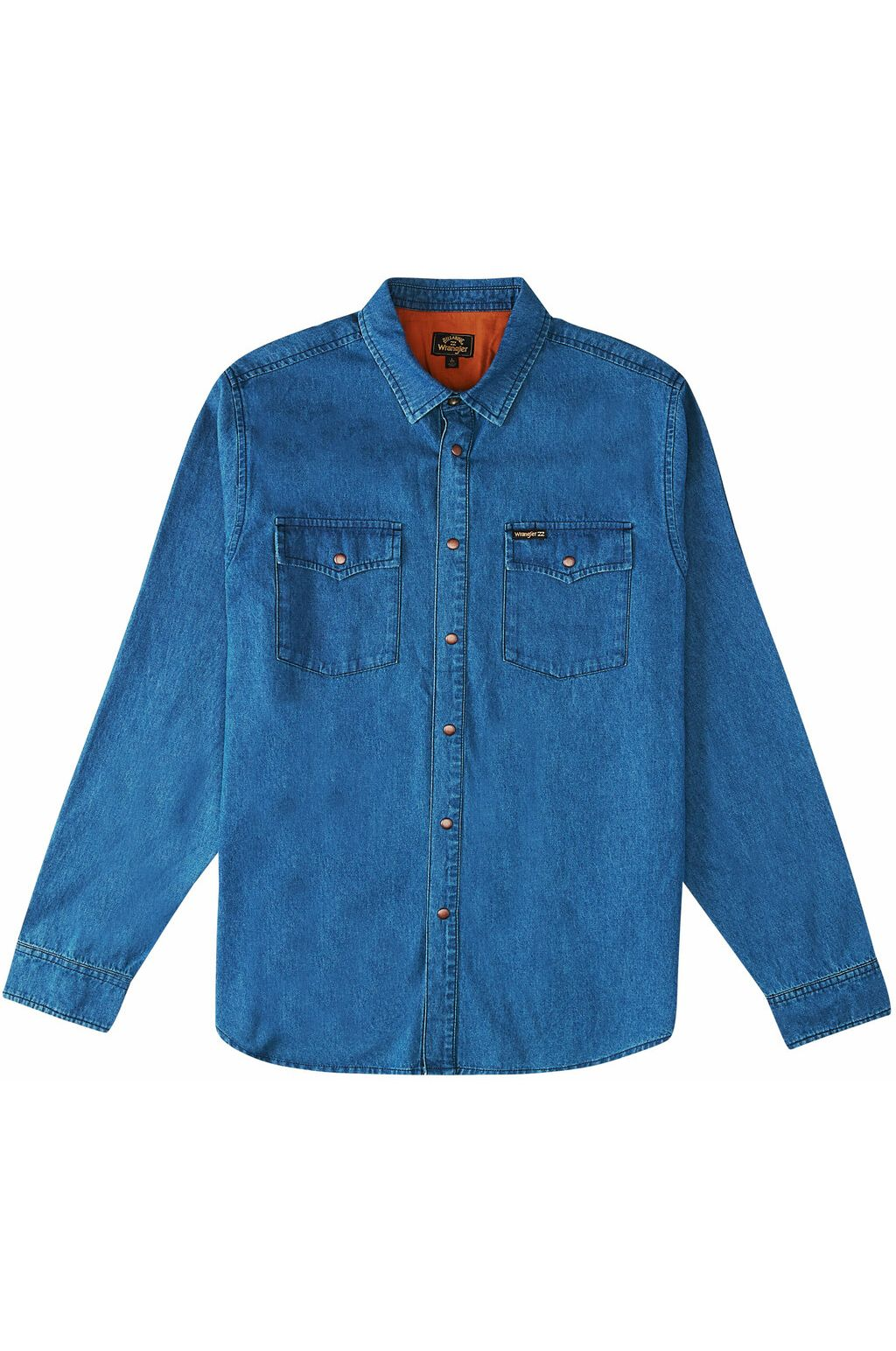 Billabong Shirt MORGAN DENIM LS WRANGLER. Ocean Blue