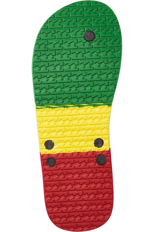Billabong Sandals ALL DAY Rasta