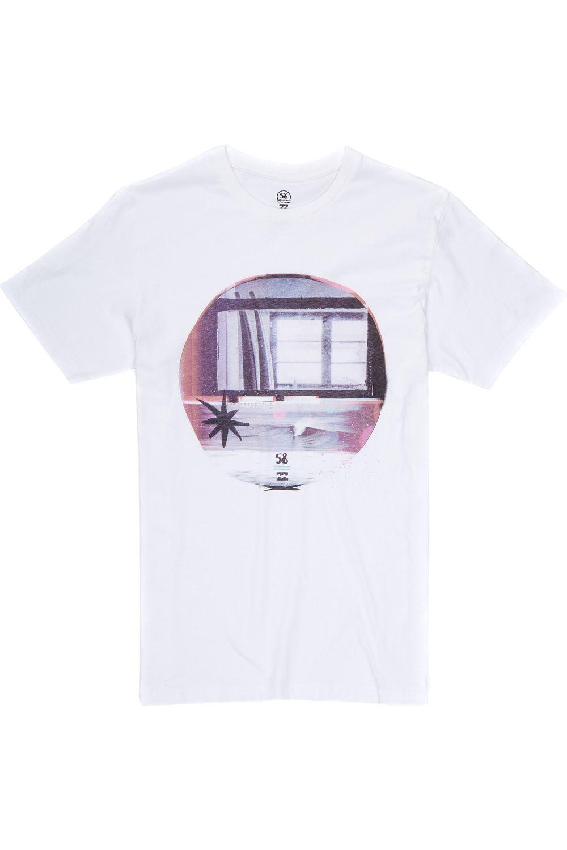 Billabong T-Shirt x 58 Surf WINDOW White