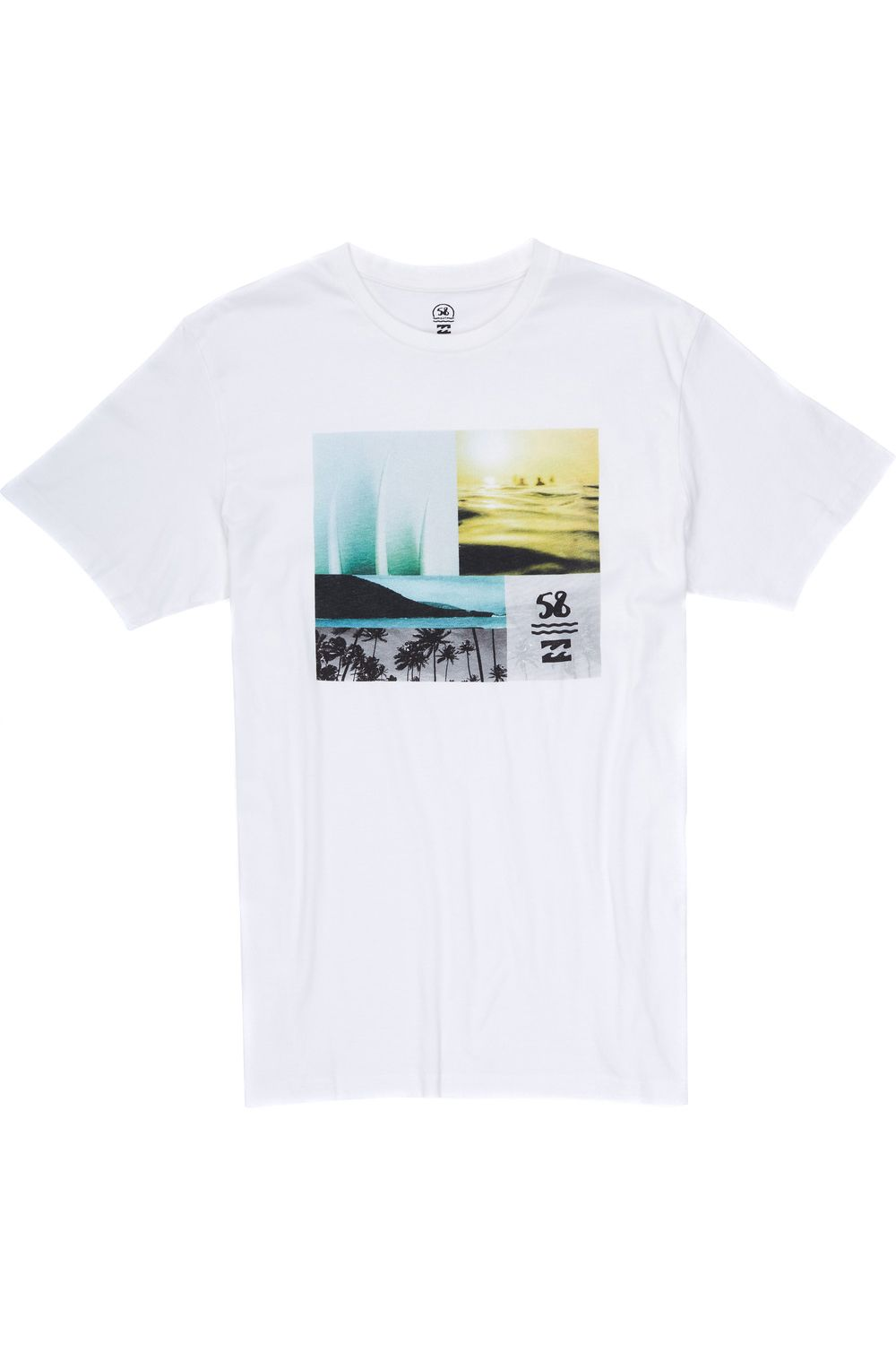 T-Shirt Billabong x 58 Surf VIBEZ White