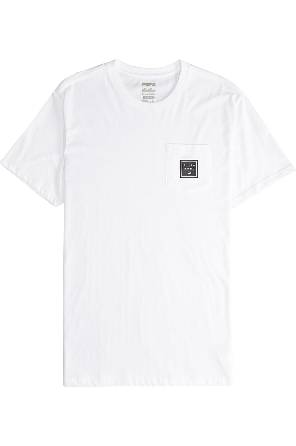 T-Shirt Billabong STACKED White