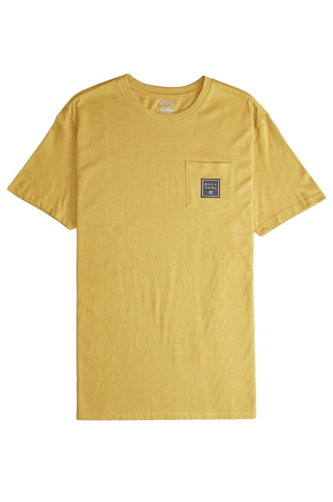 T-Shirt Billabong STACKED Mustard