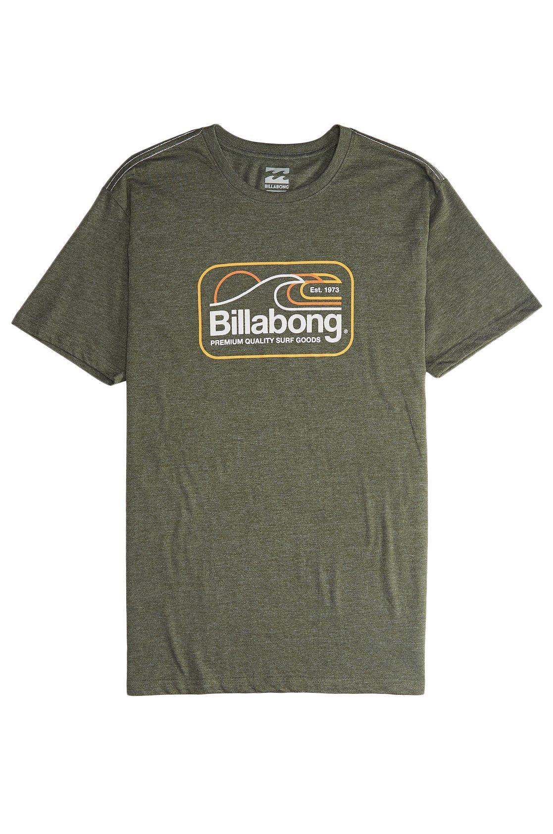 T-Shirt Billabong DIVE Dark Military