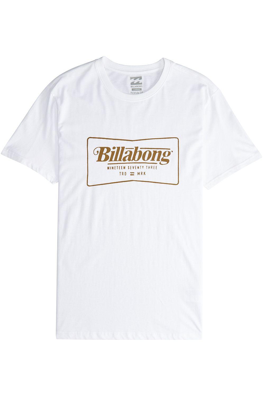 Billabong T-Shirt TRD MRK White
