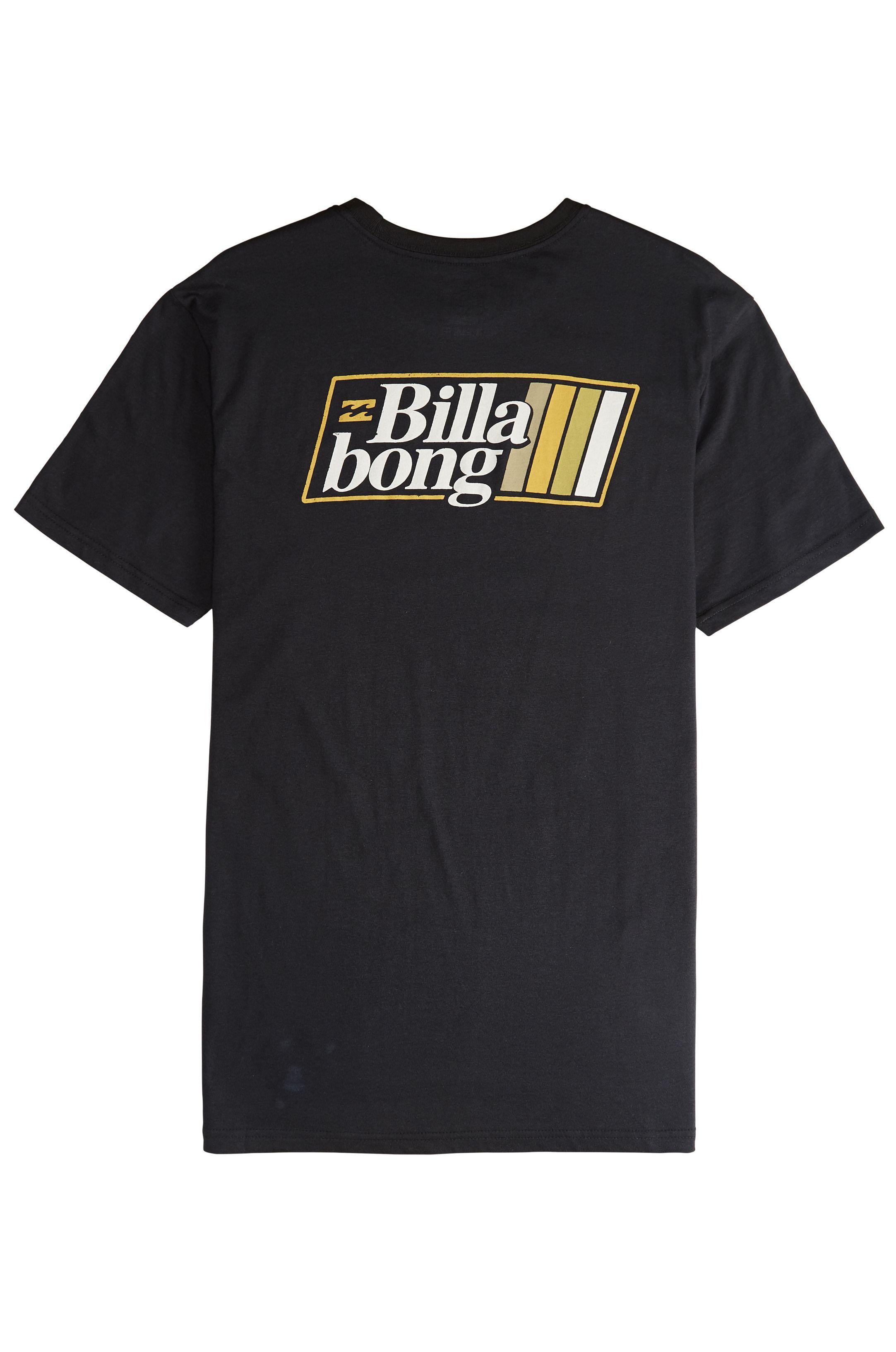 T-Shirt Billabong SUPER 8 Black